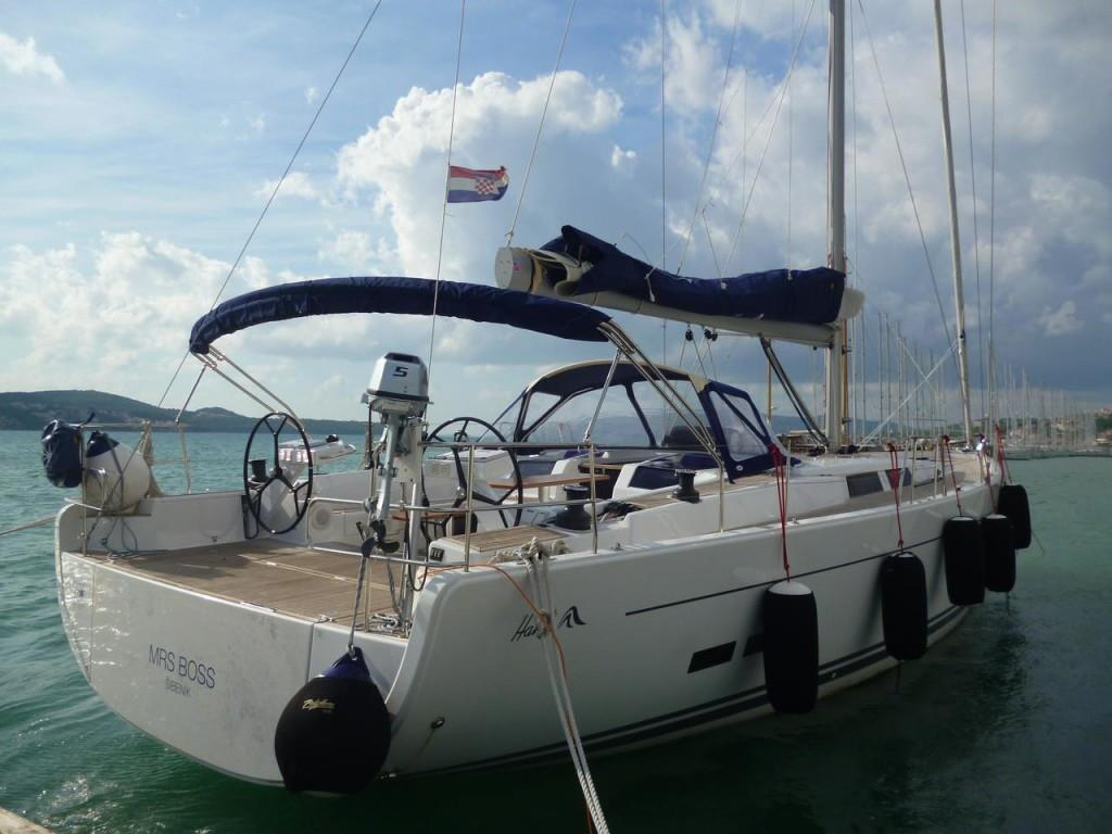 Hanse 575 NEW VOLVO 150HP