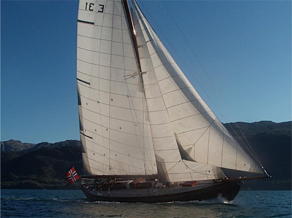 Spissgatter 13 meter - a Classic Yacht from 1913.
